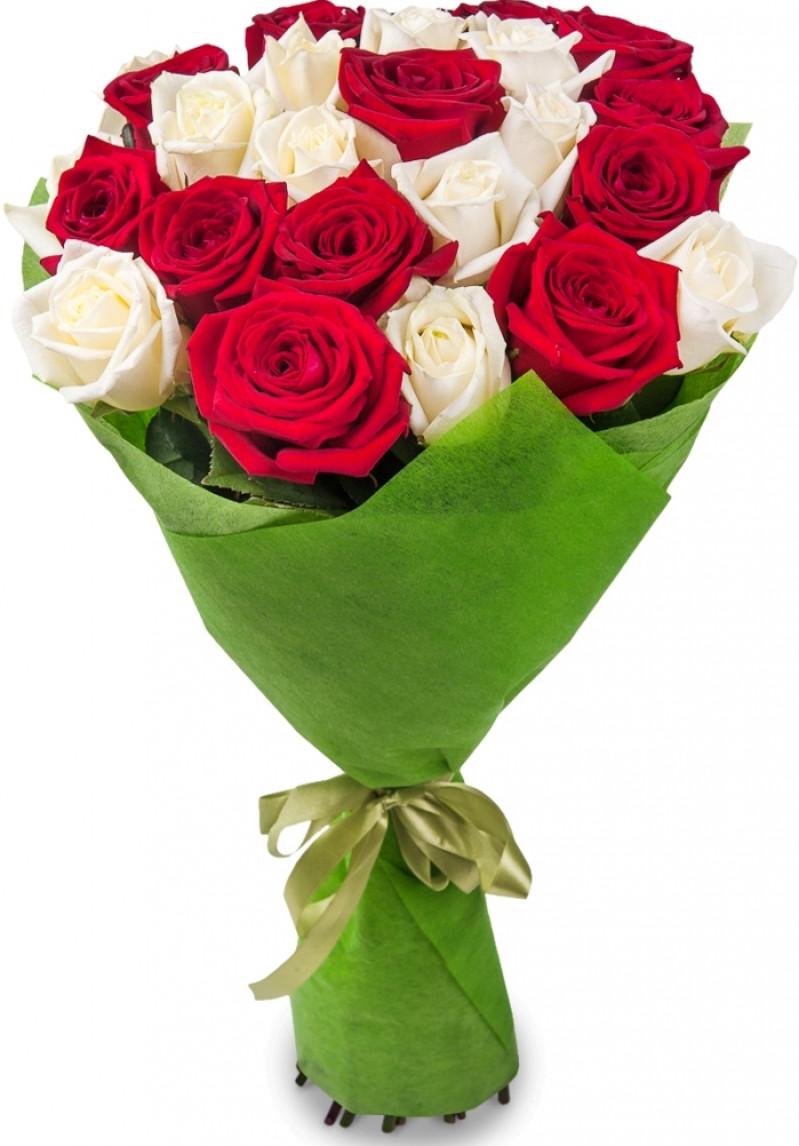 Букет, обычно оформляют букет роз
